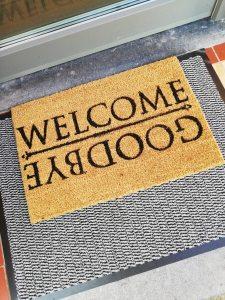 Welkom deurmat schoonloopmat - LIEVELYNE Action shoplog