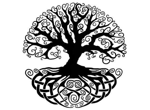 frassino di Yggdrasill, l'albero della vita della mitologia Norrena