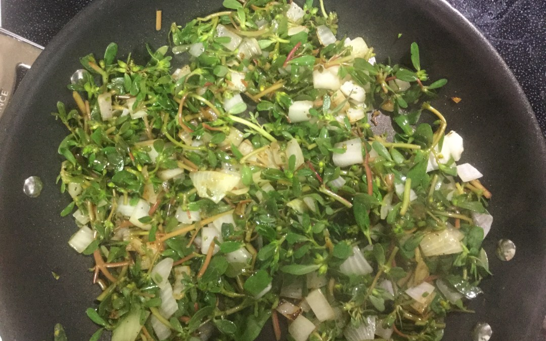 Purslane and Quinoa