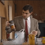 Mr. Bean Tries Some Home Improvements