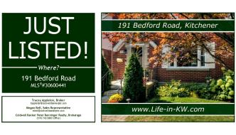 Just Listed in Rockway (Kitchener)