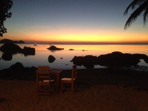 Sonnenuntergang in Had Plai Laem