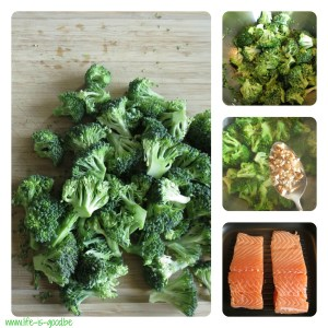 broccoli zalm