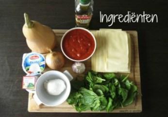 ingredienten butternutlasagne