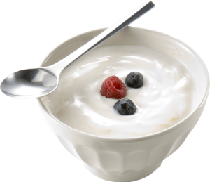 yoghurt fruit