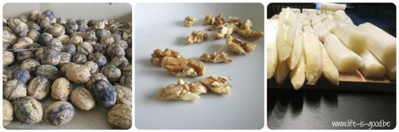 quiche met walnoten
