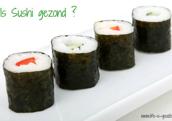 is sushi gezond