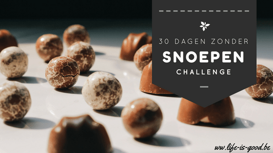 challenge niet snoepen