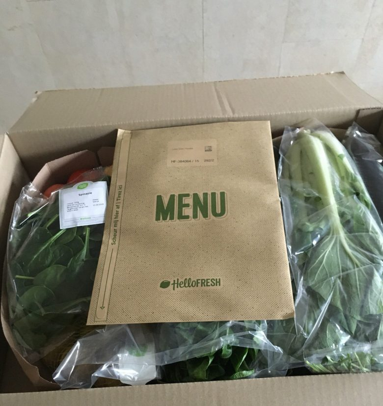 Hello fresh foodbox test