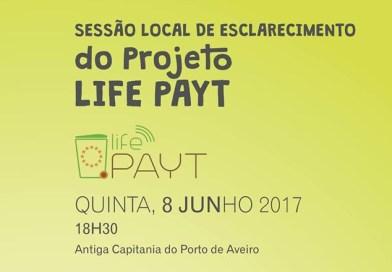 Sessão local de esclarecimento do projeto LIFE PAYT