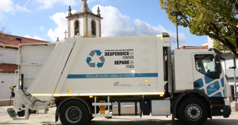 Condeixa-a-Nova has two new vehicles to measure the volume of waste and promote recycling