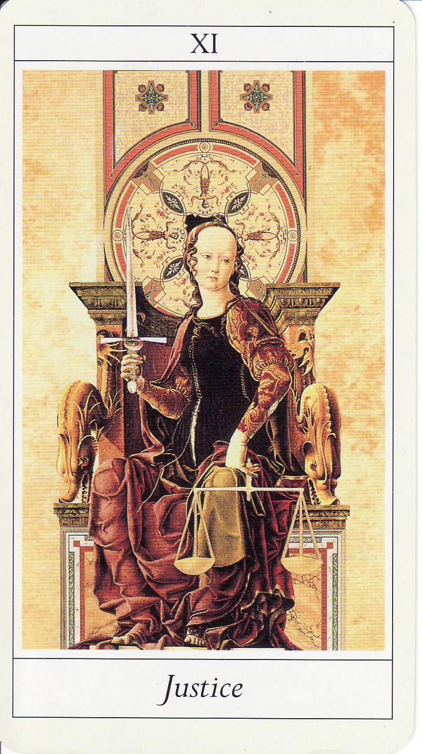 Today's Tarot: Truth, Justice, And The Universal Way