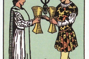 Today's Tarot: Sharing an Emotional Connection