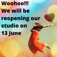 Studio Reopening 13 June