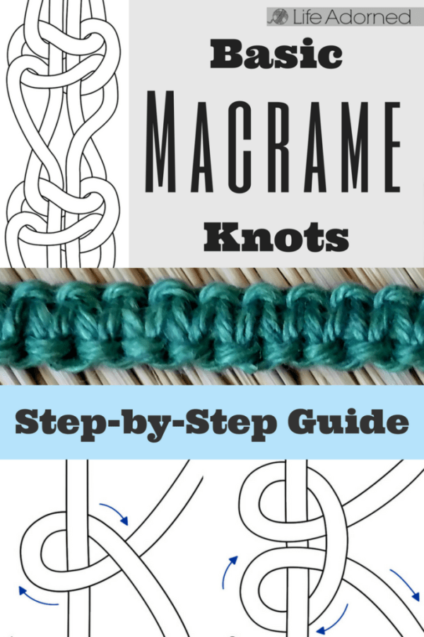 Different Macrame Knots Manual Guide