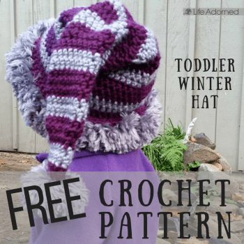 Baby, it's still cold outside! This free crochet pattern is not just for the holidays. It's a quick and easy pattern, so in almost no time at all your little one can have an adorable hat that will keep him or her cozy all winter long.