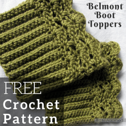 Add a pop of color to your wardrobe without the whole bulky sock with this quick crochet boot cuff pattern! Download it for free.