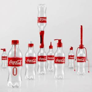 Coca Cola Empty Bottle