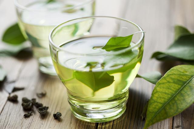 detoxifying green tea
