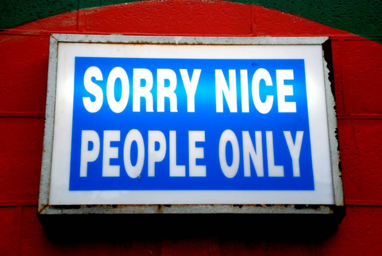 Things Truly Nice People Don't Do