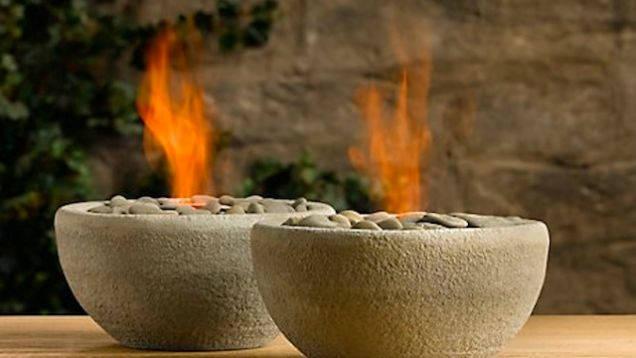 Make a Mini Fire Pit or Flaming Bowl