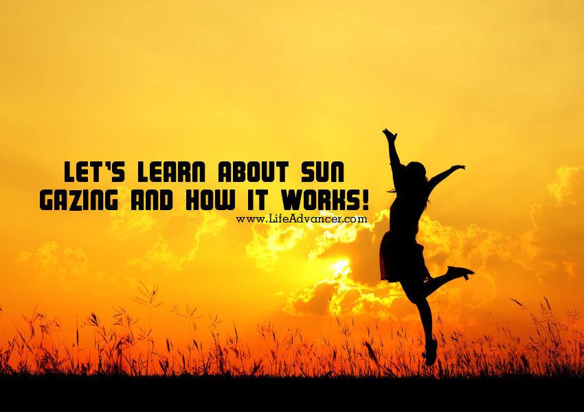 about sun gazing