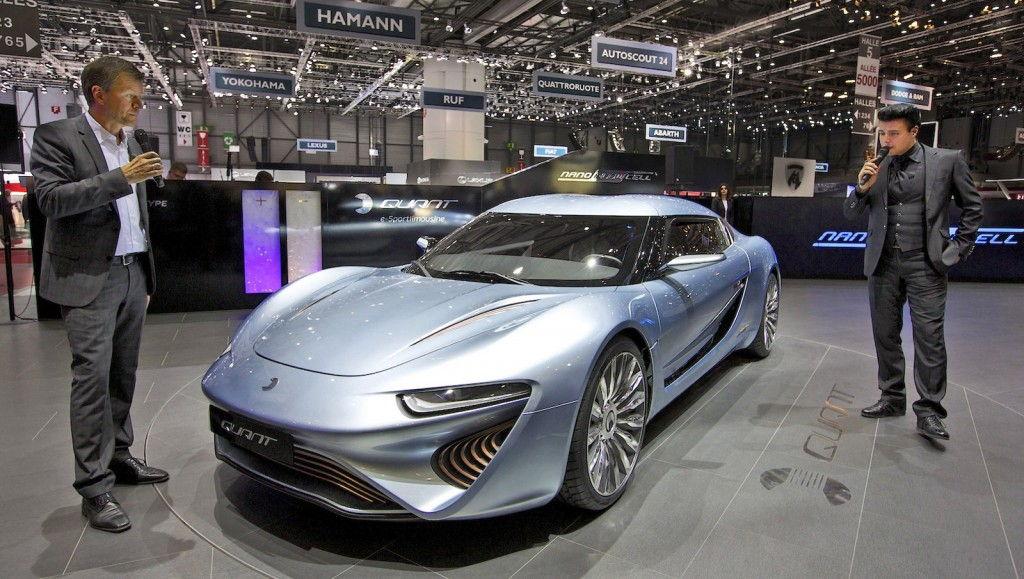 Salt Water Powered Supercar Quant E Sportlimousine