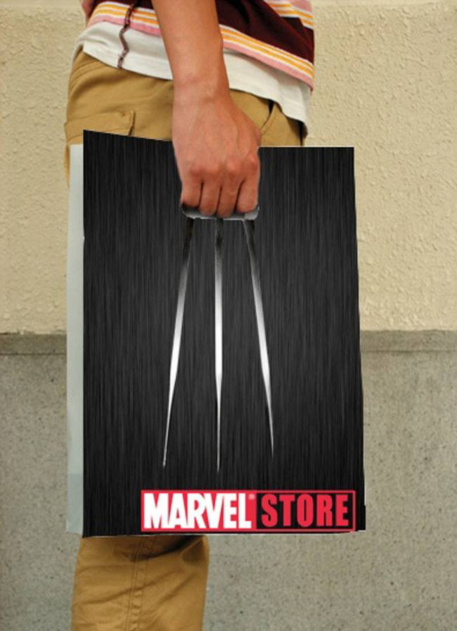 10-Marvel Store Bag-Clever Product Packages