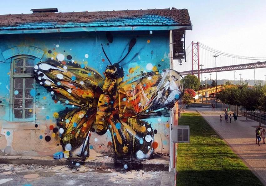 00-Bordalo II - Amazing Street Art Murals From Trash