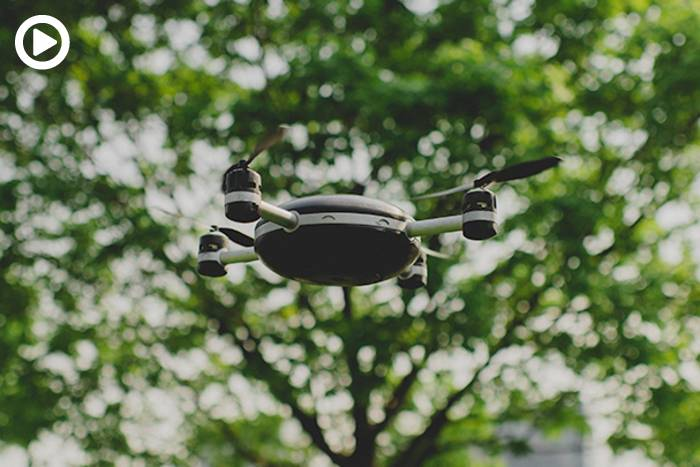 01-Lily Throw-and-Shoot Camera Drone