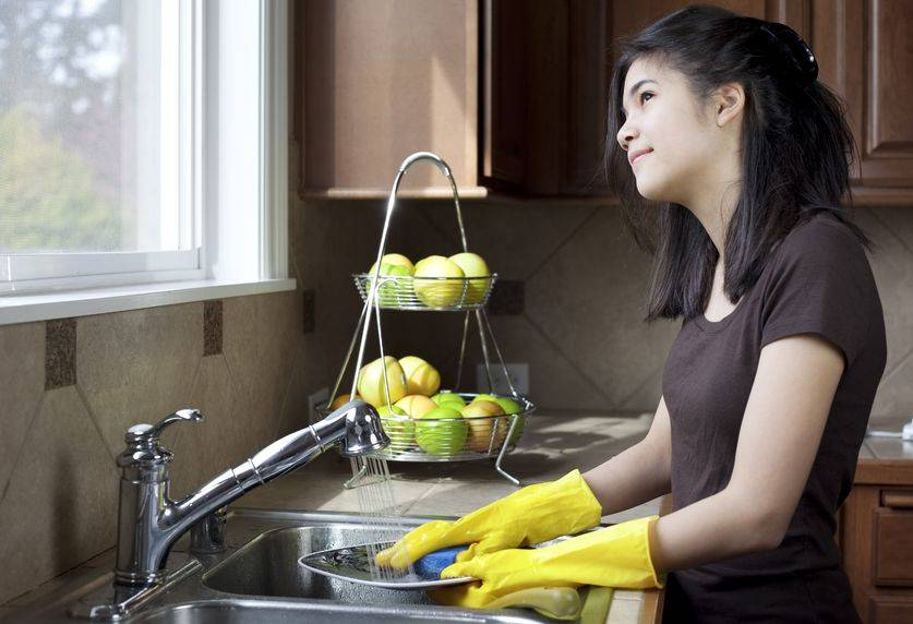 Dish Washing Boosts Your Inspiration