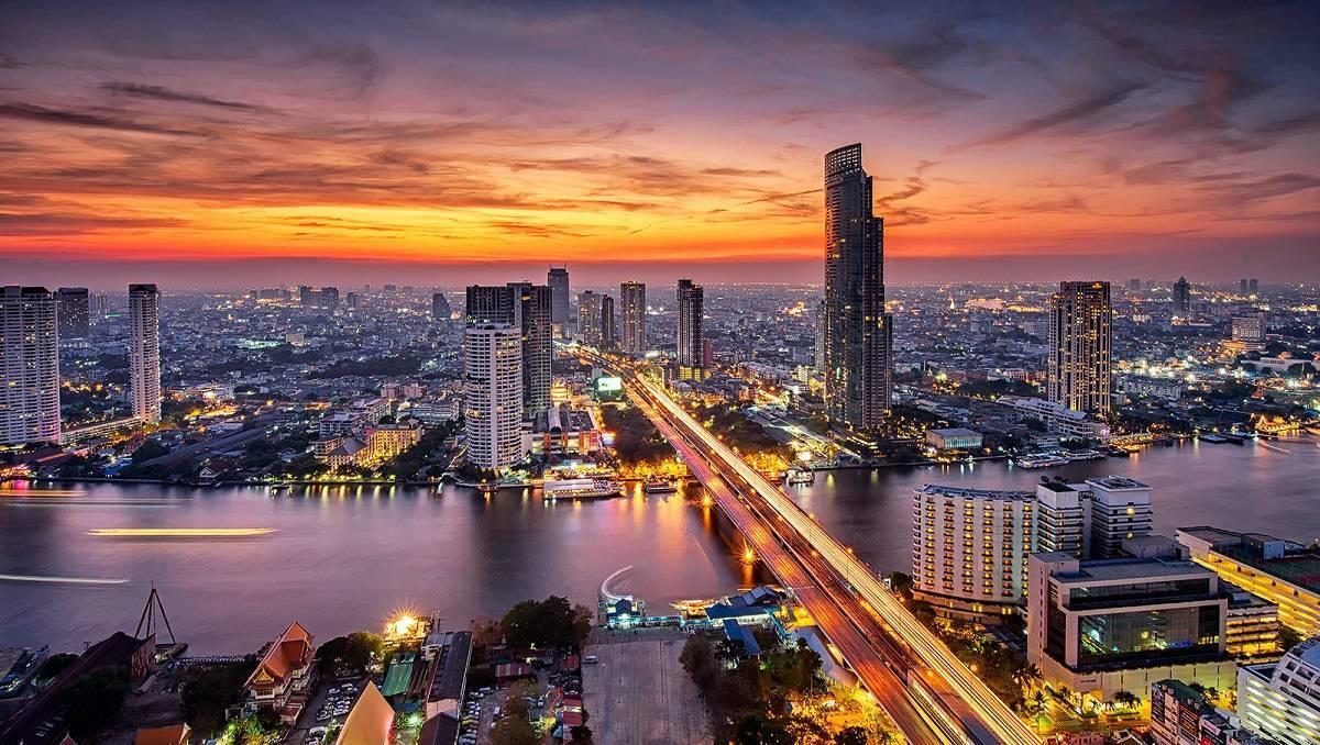 Sunsets Bangkok, Thailand