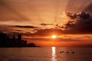 Sunsets Havana, Cuba