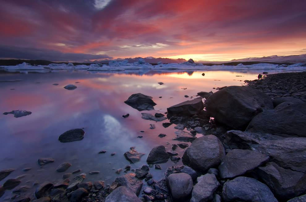Magnificent Sunsets Iceland