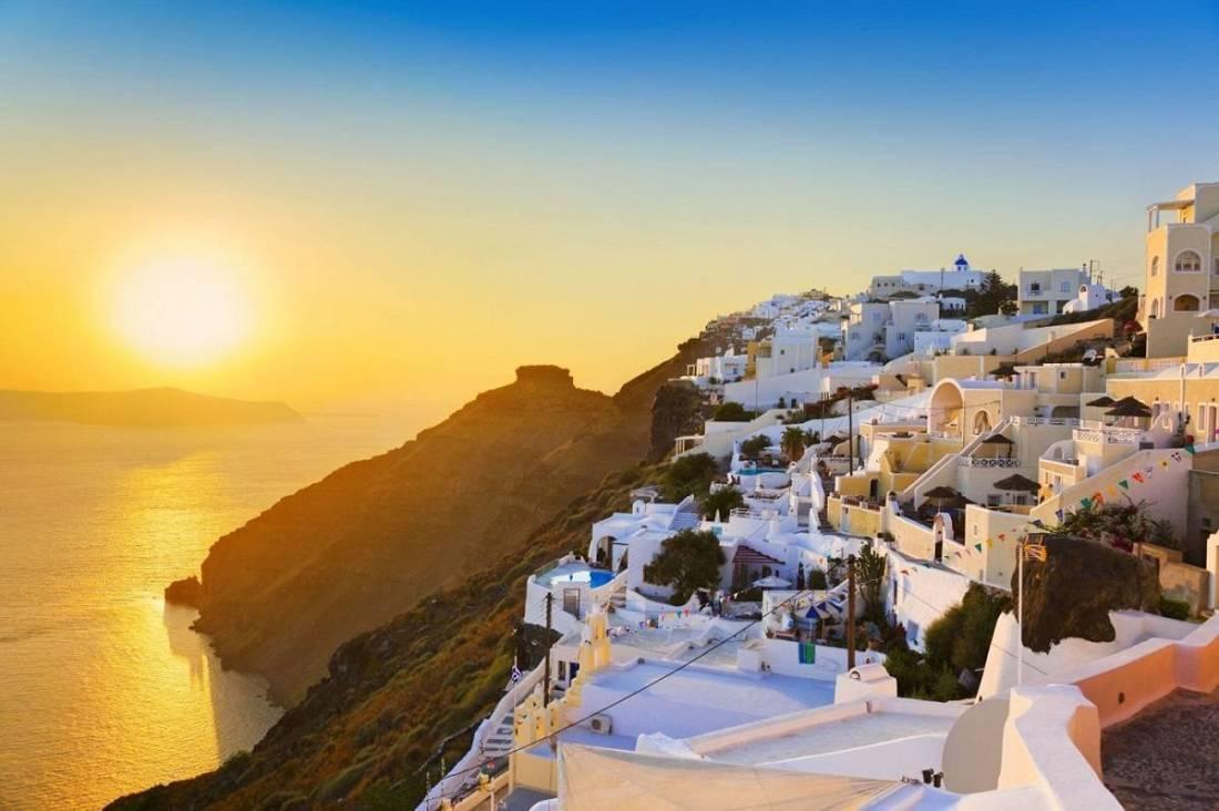 Magnificent Sunsets Santorini, Greece