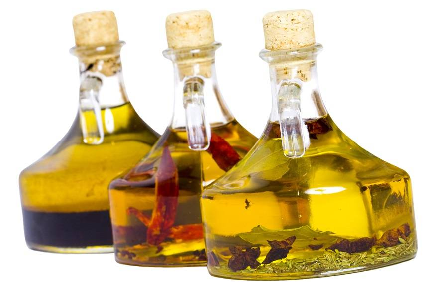 12. Infused oils