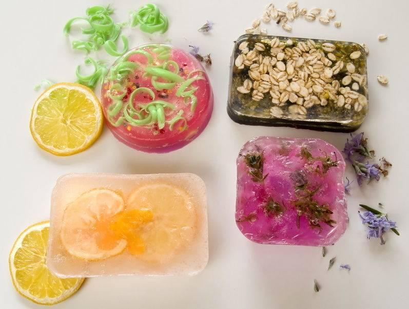 4. Handmade soaps