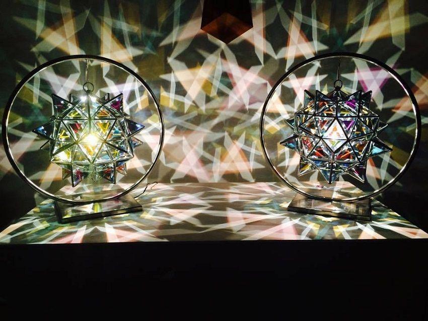 6 Glass Lamps-Zakay Glass