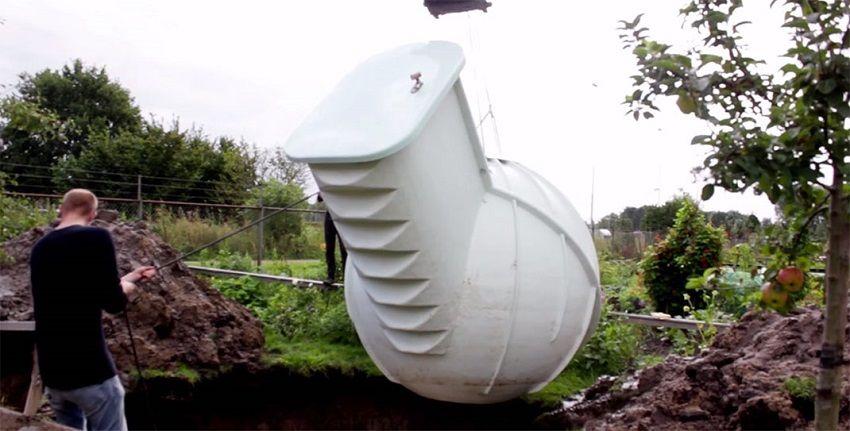 1.Innovative Ground Fridge