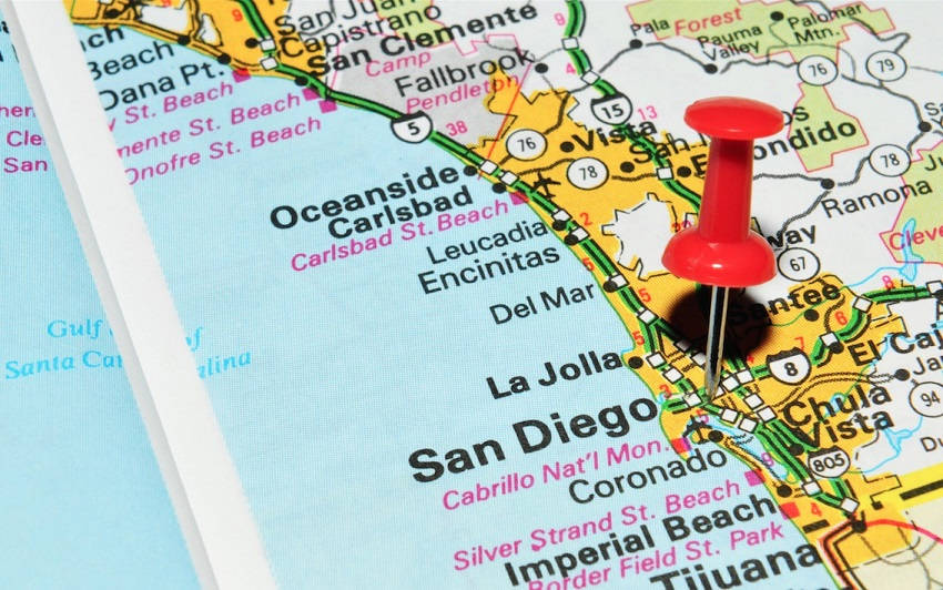 Places in San Diego