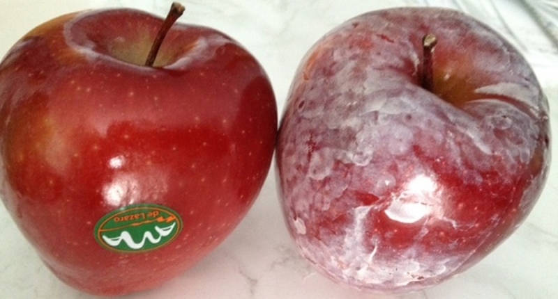 Cancer Causing Wax on Apples