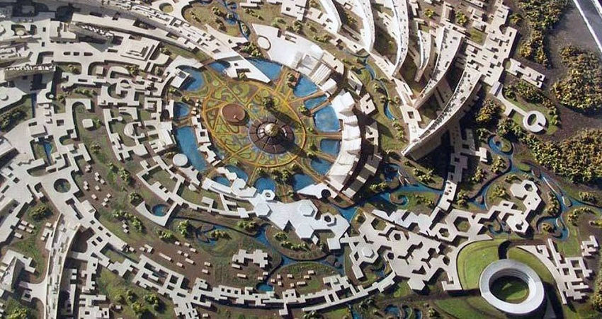 Auroville Utopian Community India No Money Politics Religion