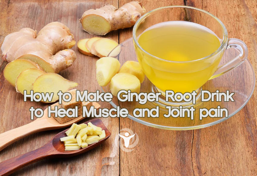 How to Make Ginger Root Drink