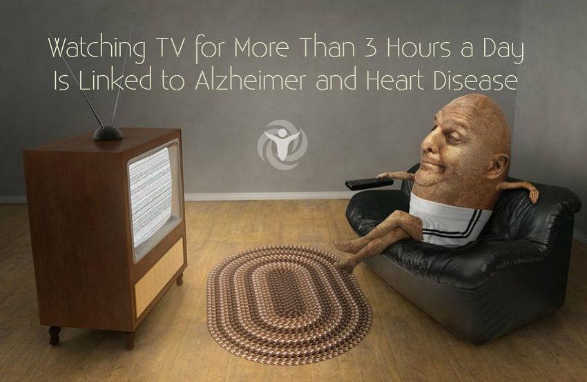 Watching TV Alzheimer Heart Disease