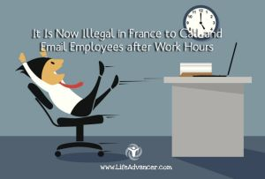 Illegal France Call Email Employees after Work Hours