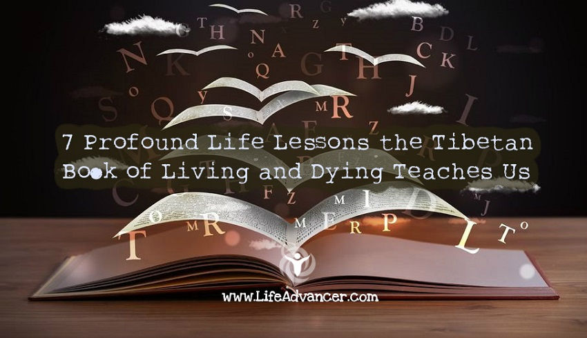 Life Lessons Tibetan Book Living and Dying