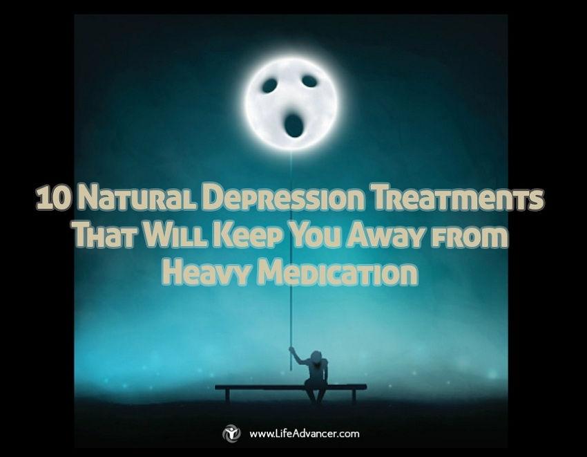 Natural Depression Treatments Keep Away Heavy Medication