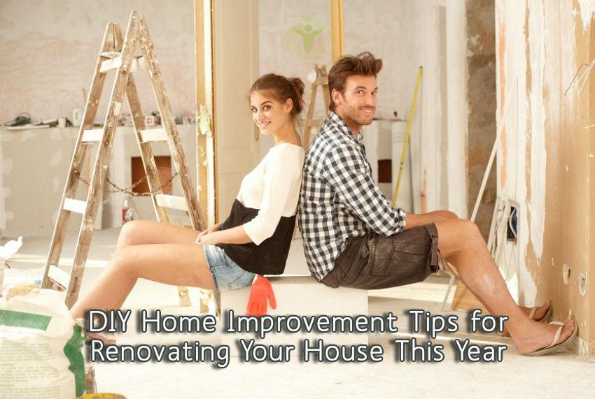 DIY Home Improvement Tips Renovating House