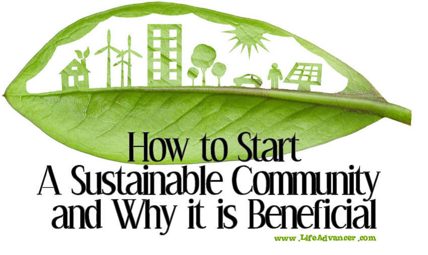 How to Start A Sustainable Community