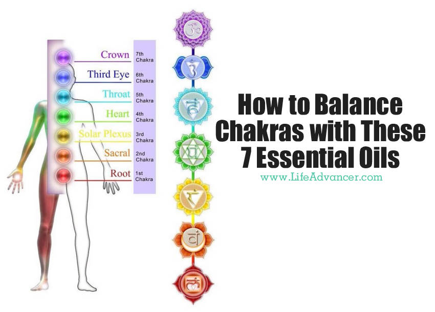 Balance Chakras 7 Essential Oils